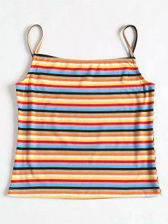 Striped Cami Top - Multi L