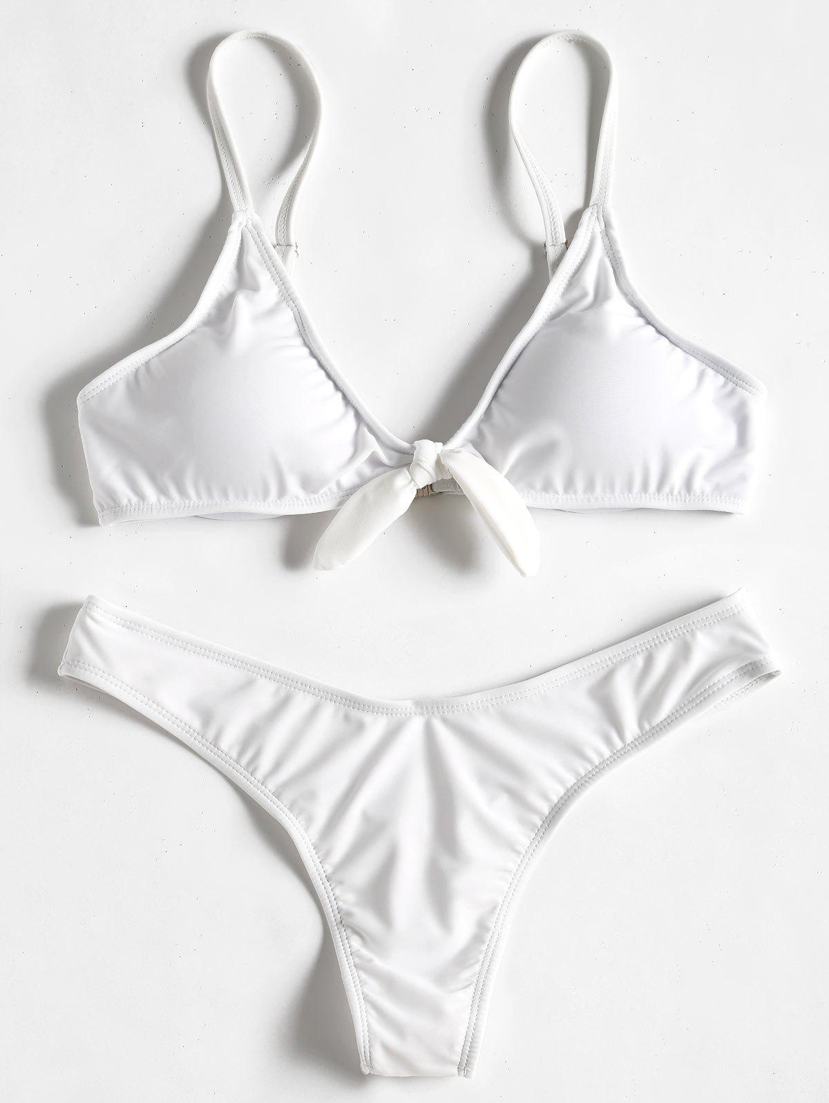 Knot Thong Bikini Set