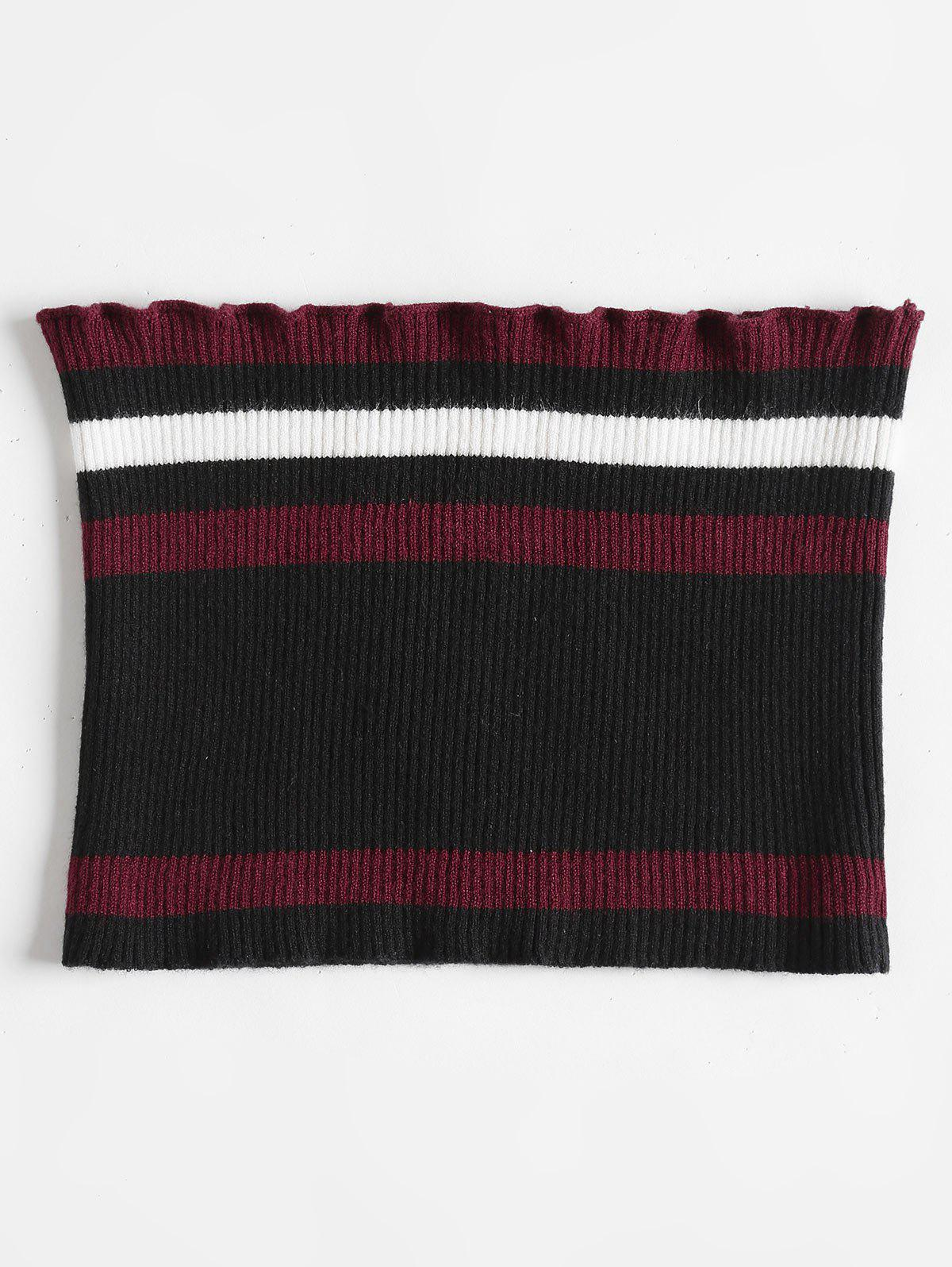 Ribbed Striped Tube Top 261513301