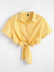 Zaful yellow blouse