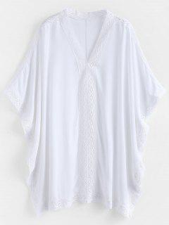 Kaftan Beach Top - White