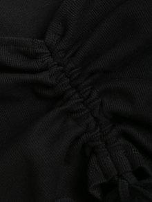 Negro Hombro Superior Parte En Recogido La Del M Punto wq1fpOB
