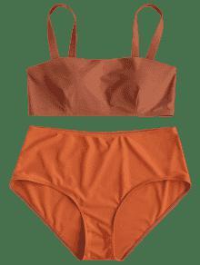 Halloween Relleno Naranja 1x De Bikini Alto De Talle Con Acolchado De Conjunto vZATnFq