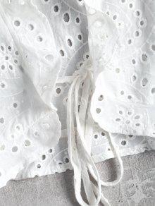 Hueco Blusa S De Cultivo Blanco AAxH84w