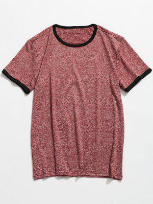 Camiseta manga corta Space Dye