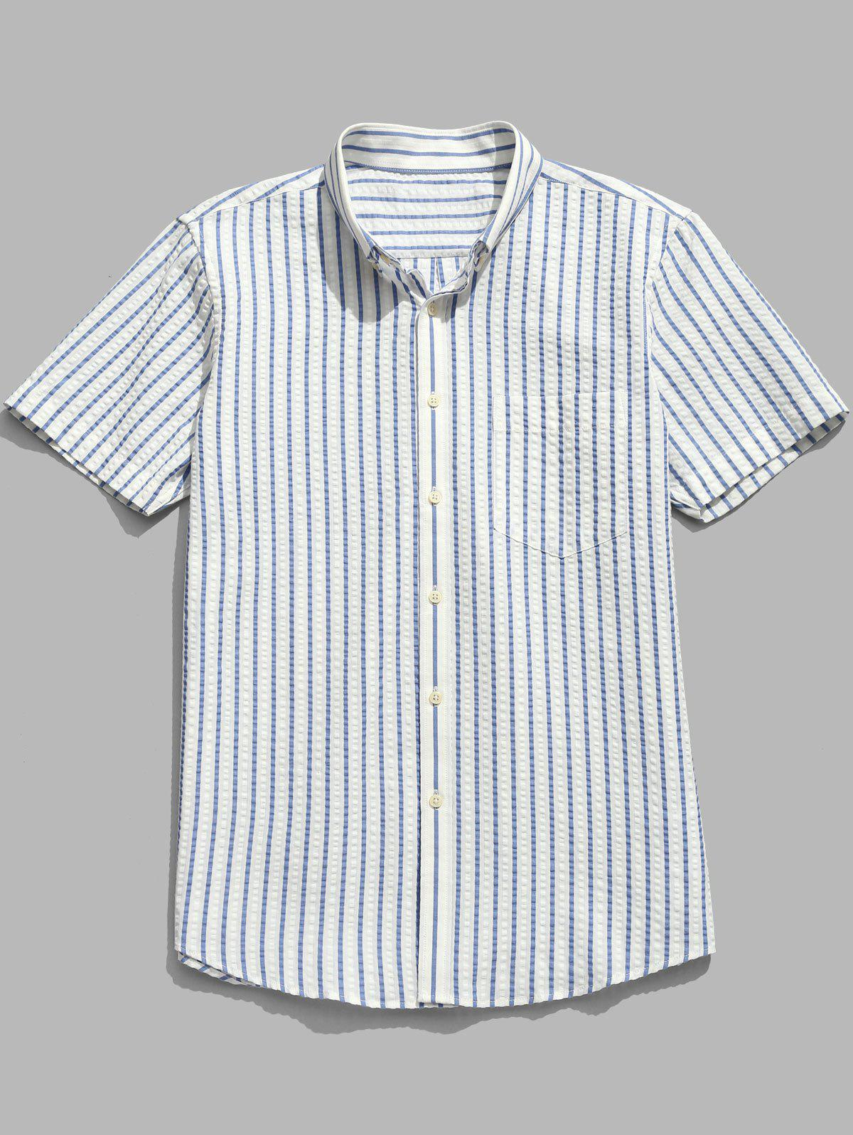 Striped Short Sleeve C