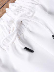 Dos 243;n Corto Blanco Pantal Sujetador De S Piezas 5xqw6p