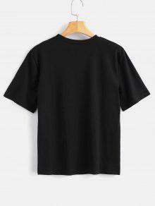 De Xl Linda Camiseta La Avestruz Negro 5XqFpFwx0