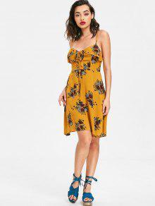 Amarillo 250;s De De Floral Autob Encaje Encaje Con Vestido L Escolar aXqgWw