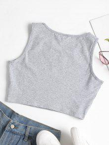 Mangas Pesta Con Gris Camiseta Labios De Estampado S as Y Sin 7qxnFRw1O