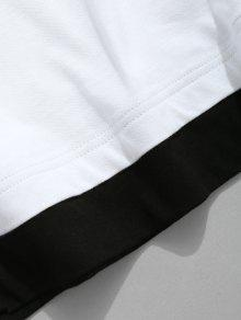 Algod De Hombros Ca 243;n Camiseta Con fPwx56zzU