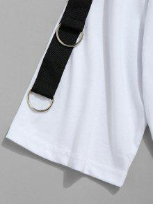 Camiseta Con De El Ojal 243;n Algod Blanco L Bordado En rrgwPdq