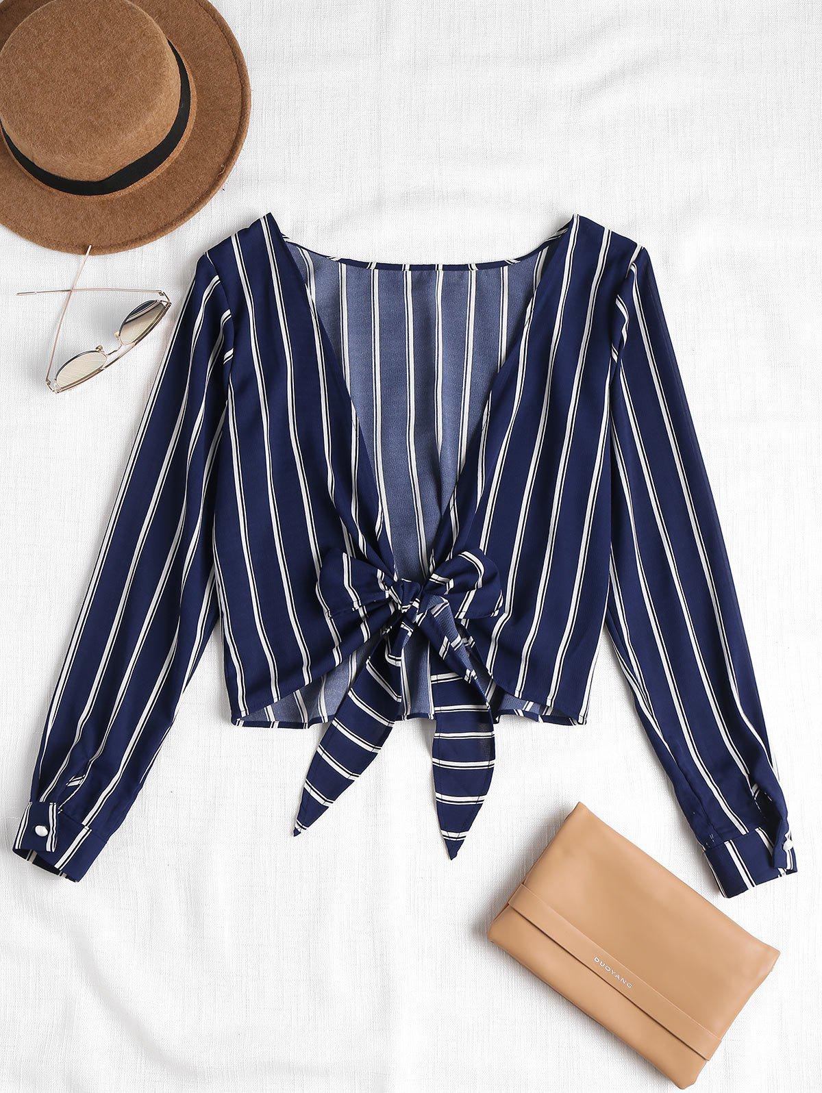 Striped Knotted Back B
