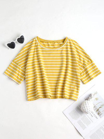 Cropped Stripe Top