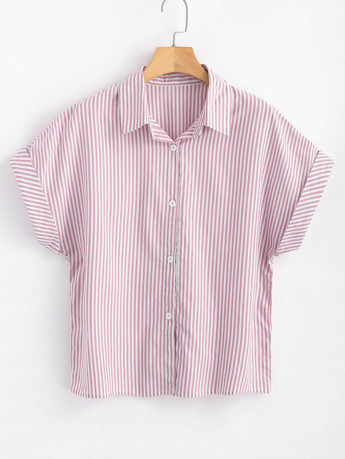Button Down Stripes Shirt 262475901