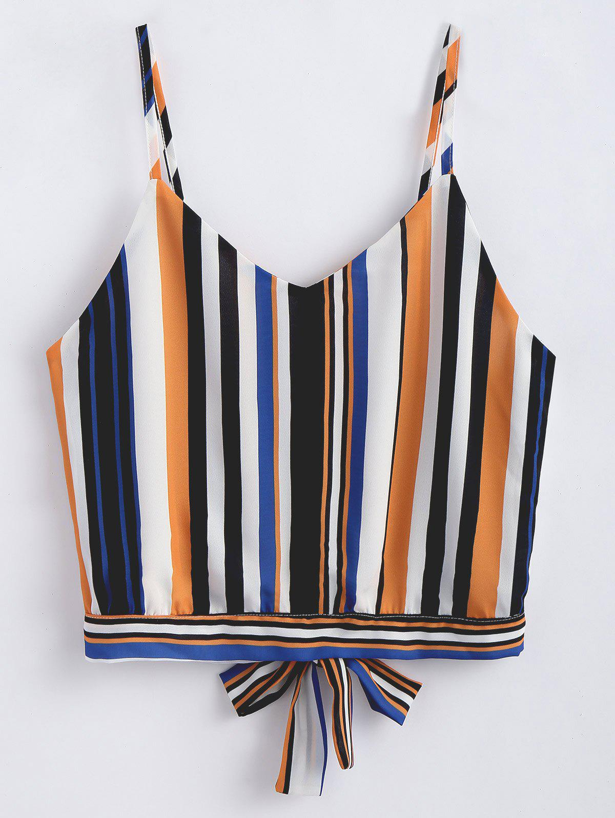 Knotted Striped Tank T