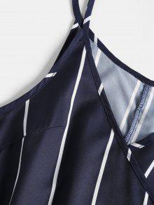Azul Vestido Tirantes M De Mini Sin Medianoche fzBaxq