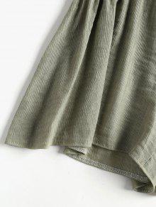 Conjunto Atados Superpuesto Y Salvia Superior Pantal S Verde De 243;n Tirantes Zr0SnxZ