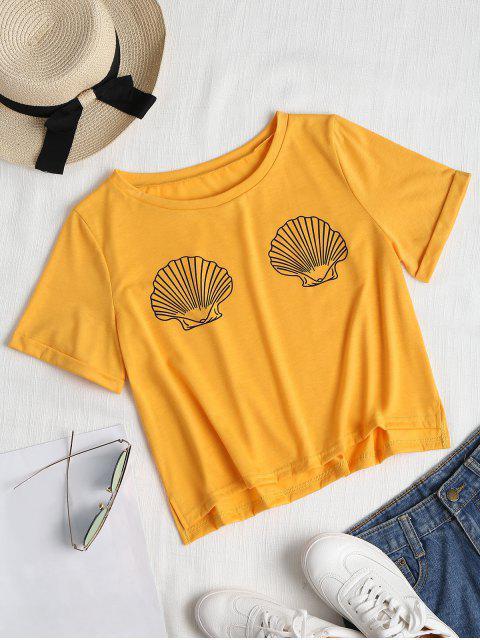 Capa de cáscaras enrolladas - Amarillo Brillante XL Mobile