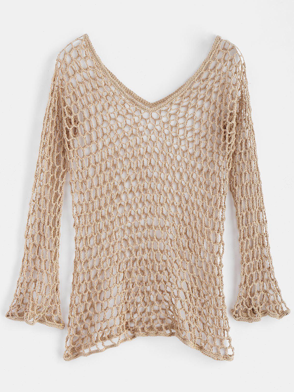 Full Sleeve Crochet To