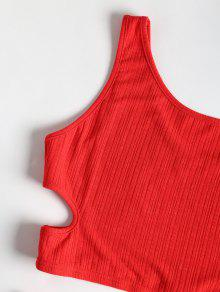 Rojo Falda S Cortadas Conjunto Superior Amo Y 8fnqfUwp