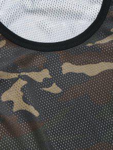 Camuflaje Camo Mesh 2xl Verde Baloncesto Camiseta De tqnXOO