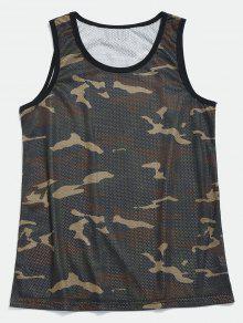 De Baloncesto Camuflaje Verde Camiseta 2xl Mesh Camo n8P1dPTxwq