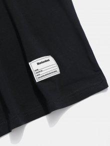 Con Ca S Negro Camiseta Casual Cremallera Hombros 237;dos Y twxHq