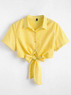 Tie Gingham Top Superior - Amarillo L