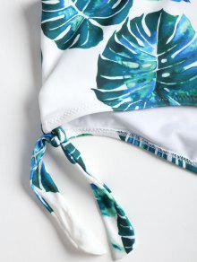 Parte Bikini La Delantera De Extragrande Anudado En Blanco Lazo Tama o Con L qURfqTHw