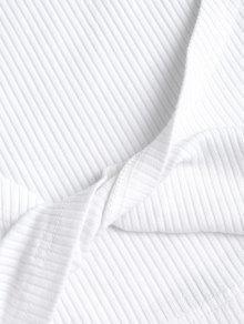 Cortos Acanalado L Piezas Blanco Juego Dos Pantalones De Y ZaqxzOfY