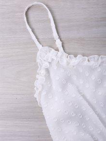 Conjunto Dos Con Blanco De Volantes Ribetes Piezas De L r5qrtv1x