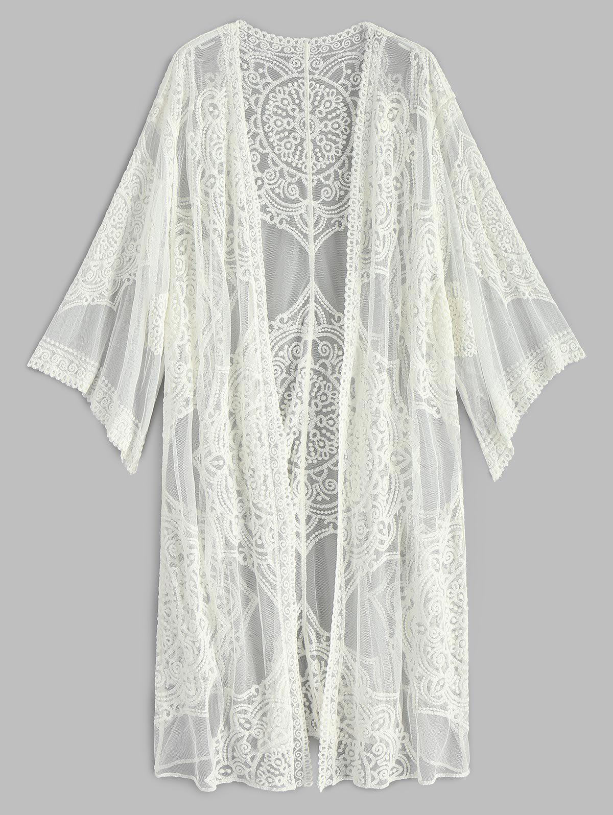 Embroidered Long Sleev