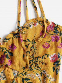Mini Floral Marr Vestido S Cortado Dorado 243;n Px0wRPrqZ