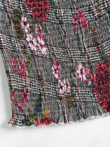 De Parte Superior Gallo Deshilachada L Multicolor Pata Floral De q7Xapwz7