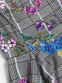 Pata Estampado Con Skater L Gallo Floral Multicolor Vestido De De p76ZqXxw