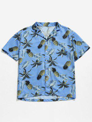 Hawaii Ananas Druck Strand Shirt