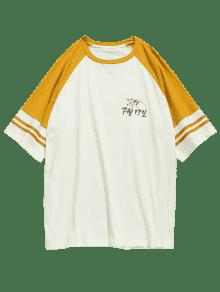 Manga Camiseta Con Con Ragl Camiseta tCwYx8xq0