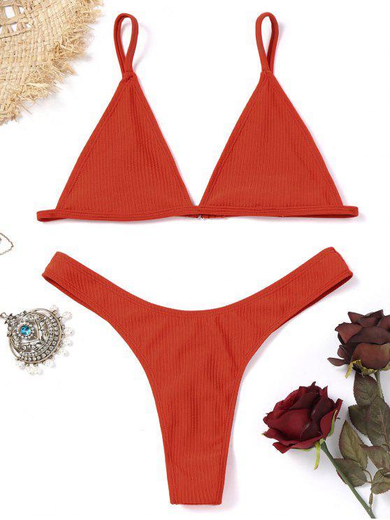ladies Unlined Thong Bikini Set - JACINTH S