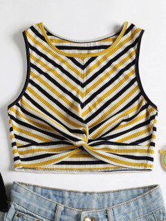 Stripes Twist Camiseta Sin Mangas - Multicolor S