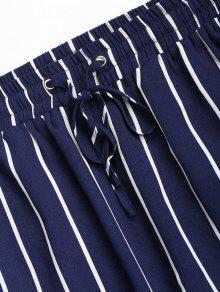 Azul Profundo Top Conjunto Y Pantal De De L 243;n Rayas gfwT0qP8wx