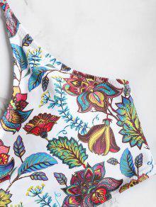 De Grande Blanco Talla Bikini Alto Corte L Y aZ6Sx