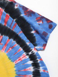 Corta Dye S Camiseta Manga Multicolor Tie De FOqHw