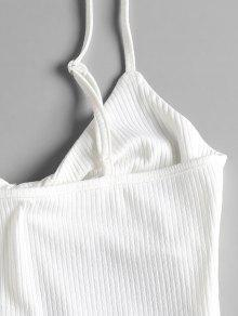 Twist Tank Cami Blanco M Top qXSFq