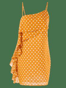 Autob Escolar Y Cami Amarillo Con Volantes Vestido De Lunares 250;s M xqzwgH