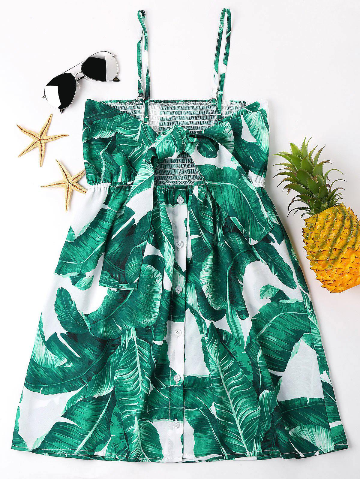 Leaves Print Front Kno