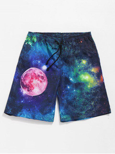 Casual Galaxy Shorts - Azul Oscuro de Denim L Mobile