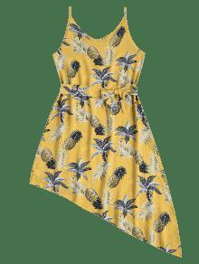 Vestido Asim Pineapple 233;trico Palm Amarillo Verano De De M qz7rdqwC