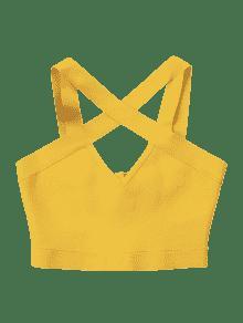 Abeja Recortada Camiseta Amarilla Mangas Sin De Oqxw0KTFU