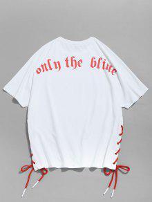 Blanco Ragl Con Camiseta Cordones Manga Con 225;n Xl px8YxzqRCw